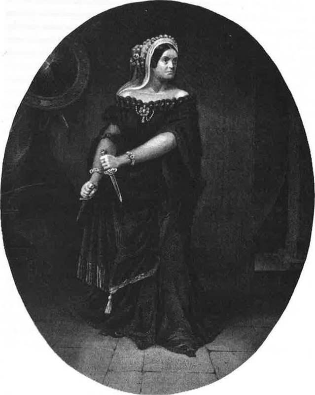 Charlotte Cushman as Lady Macbeth